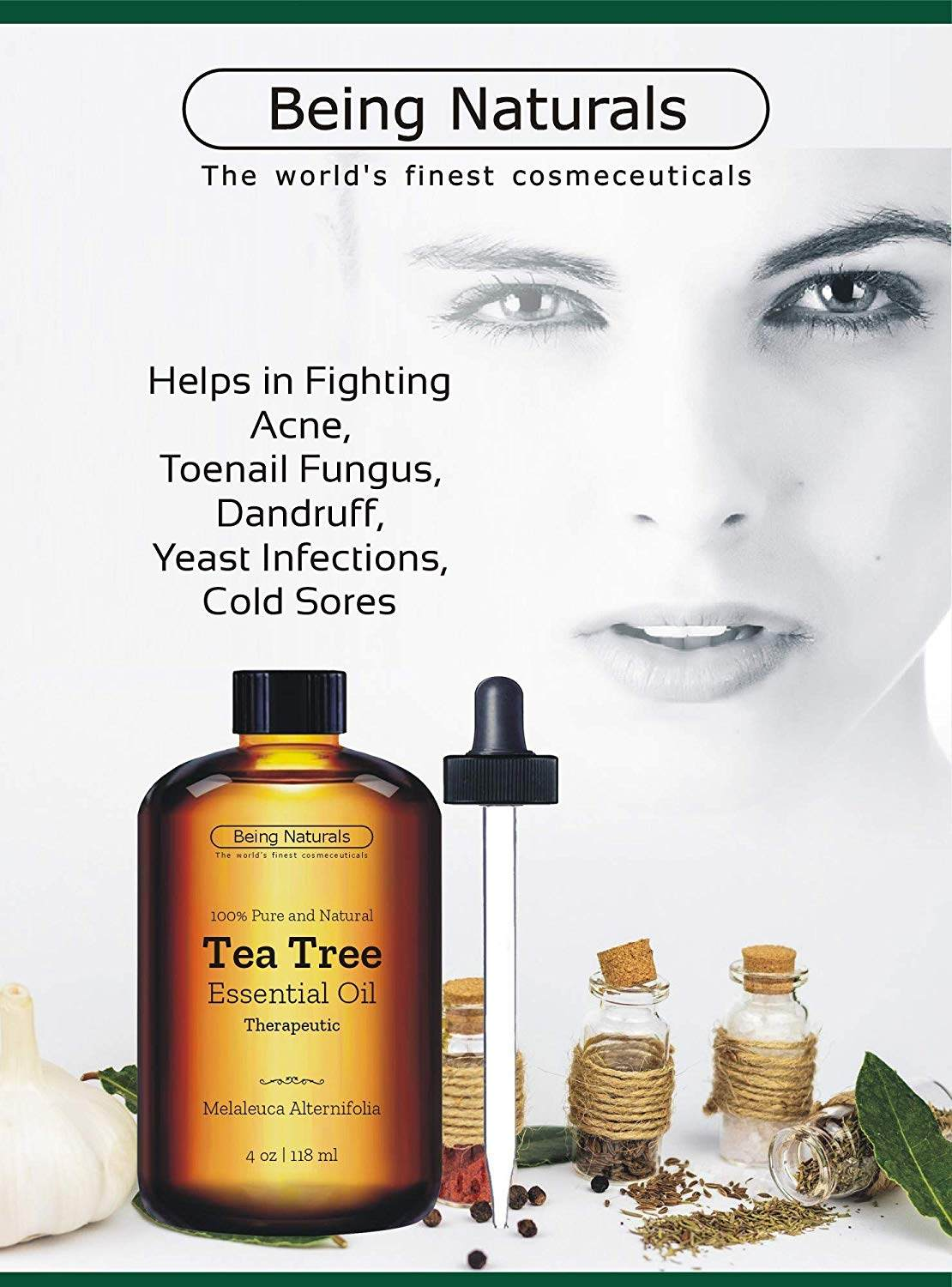 Therapeutic Tea Tree Essential Oil
