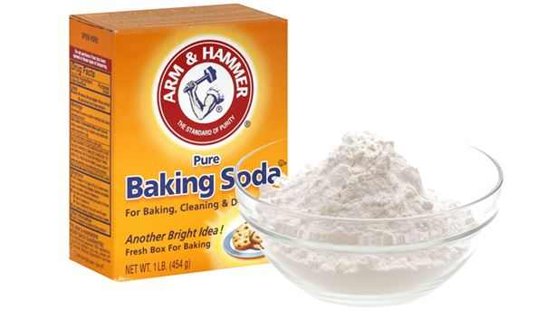 Baking soda remedy for chicken skin on face, legs and arms