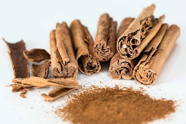 Cinnamon is used to relieve symptoms associated with dry heaves.