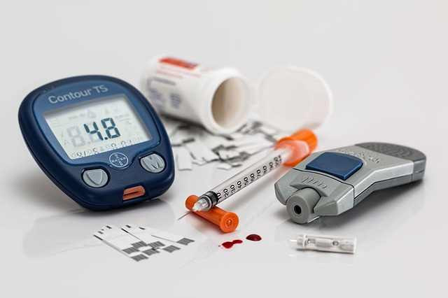 In the case of diabetes patients, the dry heaves are caused by ketones