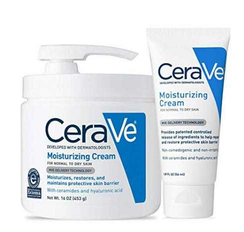 ceraVe moisturizing cream for bumps on fingers