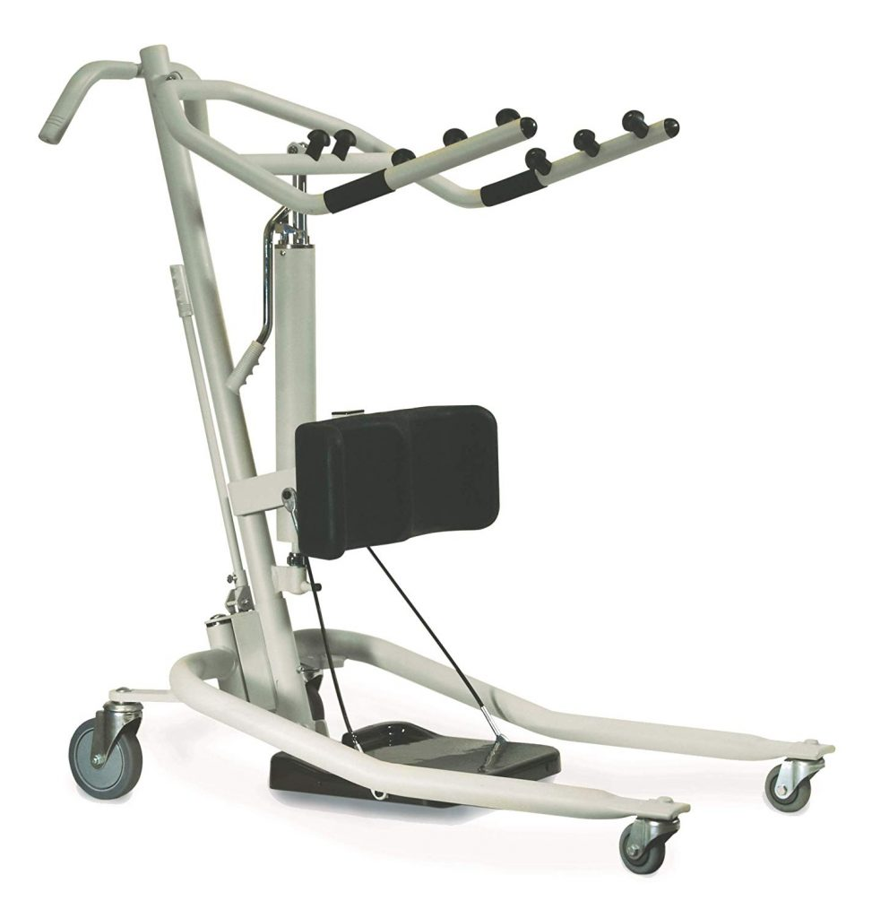Invacare Get-U-Up Hydraulic Stand-Up Patient Lift