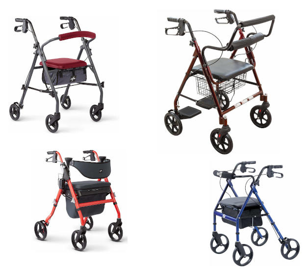 Best Mobility Walkers With Seat Reviewed & Buying Guide